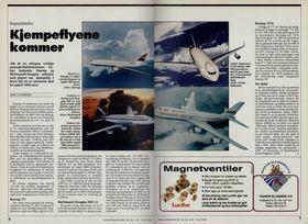 Til og med en tredekkers A2000 var på tegnebrettet for 24 år siden, ifølge Teknisk Ukeblad, juli 1992.