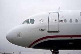 US Airways mottok Airbus nummer sju tusen, en A321, i desember 2011.