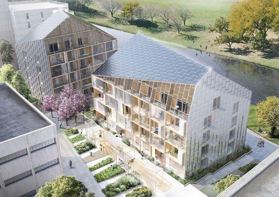 Muligheter: To plusshus skal bygges i Hjorthagen. Takene dekkes med solceller og sedum, toalettene skal spyles med regnvann. Byggene består av totalt 43 utleieleiligheter.