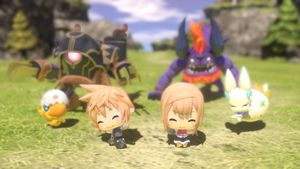 World of Final Fantasy får en demo neste uke