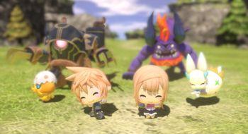 World of Final Fantasy får en demo neste uke
