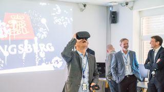 Kongsberg-sjefen åpner teknologisk lekegrind
