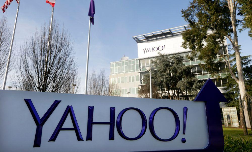 Yahoos hovedvarter i Sunnyvale i California.