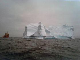 Det største isfjellet Randfonn var med på å flytte ble bereget å være på 8 millioner tonn.