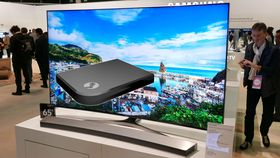 Samsungs neste toppmodell kan få Steam Link. På bildet ser du årets toppmodell, KS9505.