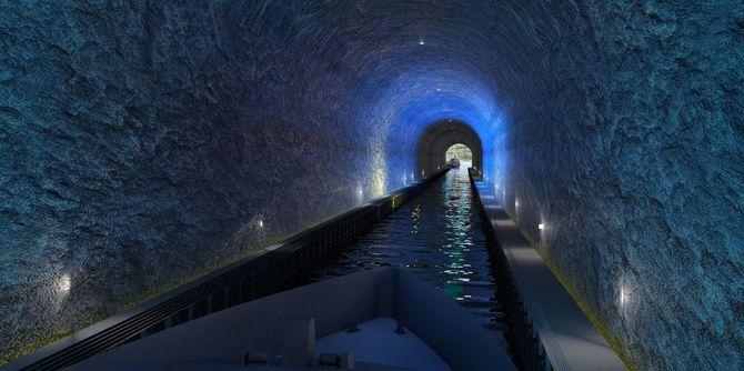 Den 1,7 kilometer lange tunnelen skal etter planen være 49 meter høy og 36 meter bred.