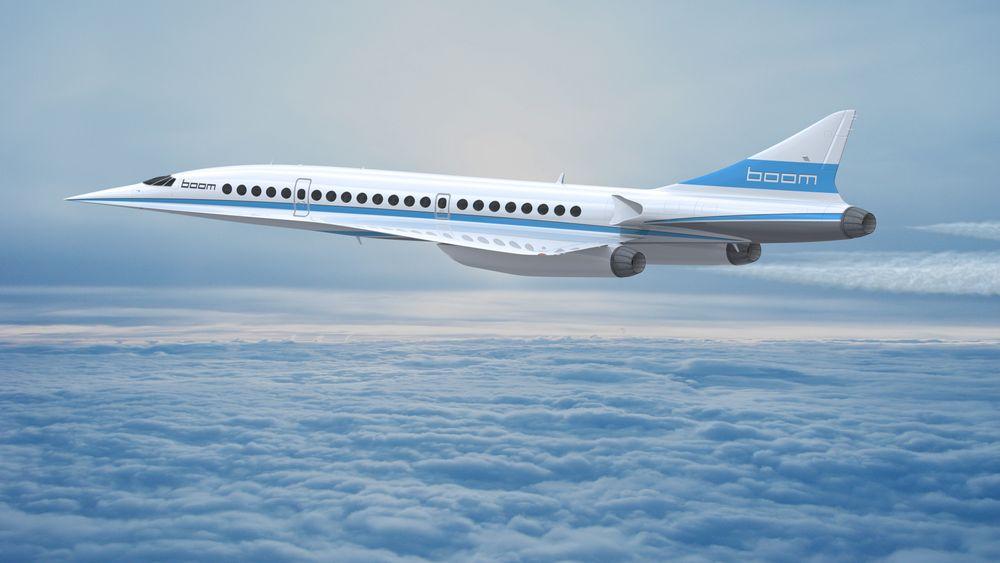 45 passasjerer skal fly i Mach 2,2 når Boom Technology blir ferdige med sitt fly. I første omgang må vi vente på en prototyp.
