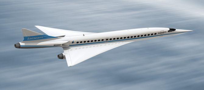 Dette er hvordan den supersoniske 50-seteren kan se ut.
