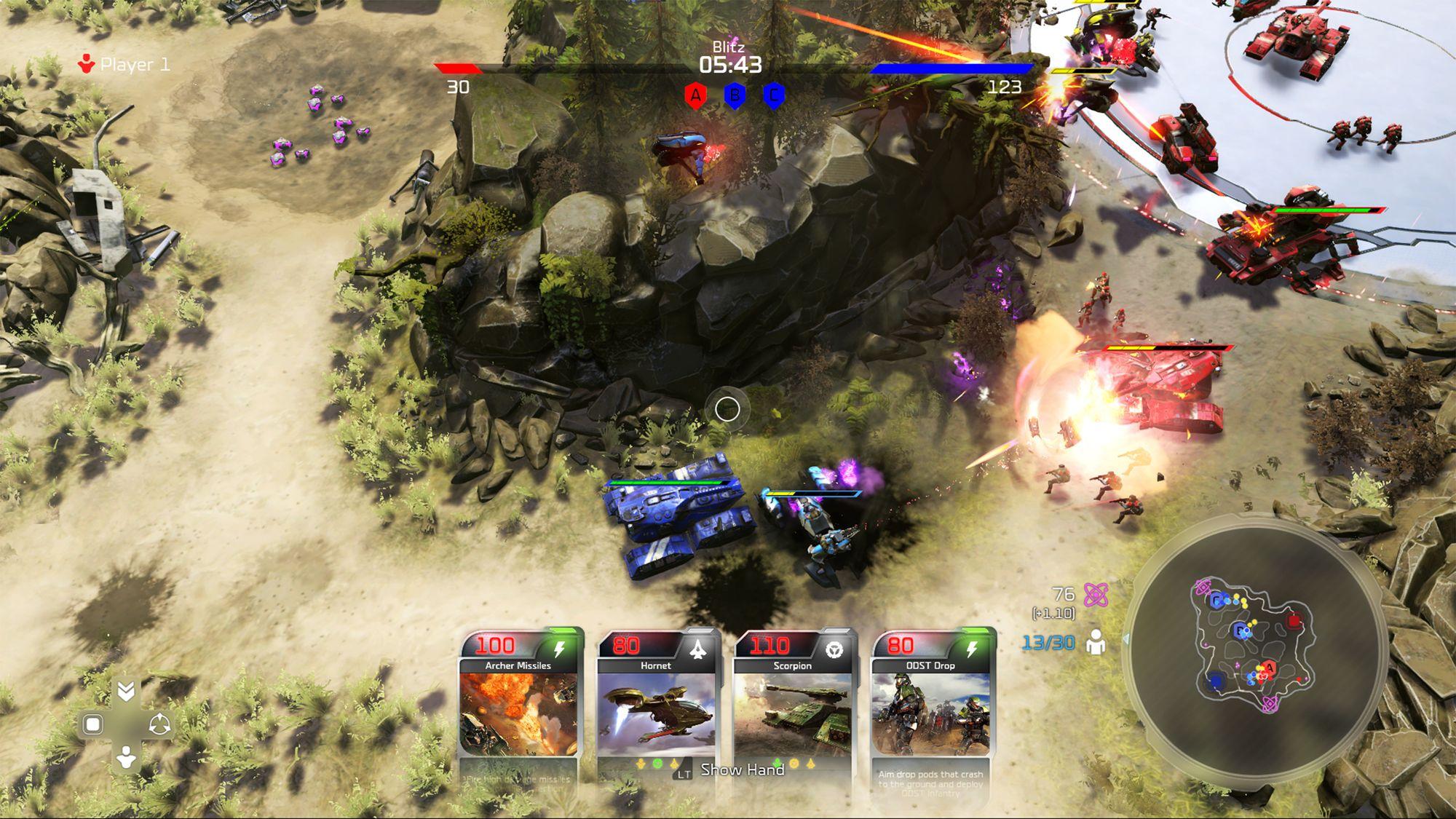 Blitz er en fartsfylt og overraskende morsom modus.