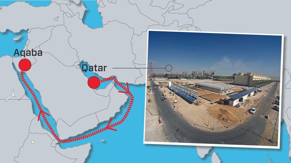 Sahara Forest Project har fått støtte fra USA til å skipe pilotanlegget sitt fra Qater til et nytt og mye større anlegg de vil bygge i Jordan. Nå har norske myndigheter økt sitt bidrag til prosjektet.