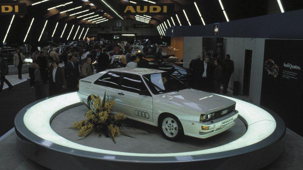 Det har gått 36 år siden Audi Quattro ble lansert, i Geneve i mars 1980. Om to år kommer «Ur-E-tron».