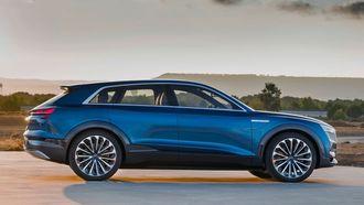 «Ur-E-tron» blir en SUV som kommer til å ligne en del på denne.