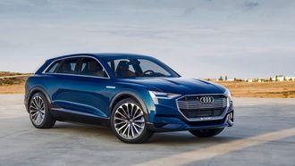 Audi e-tron quattro Concept.