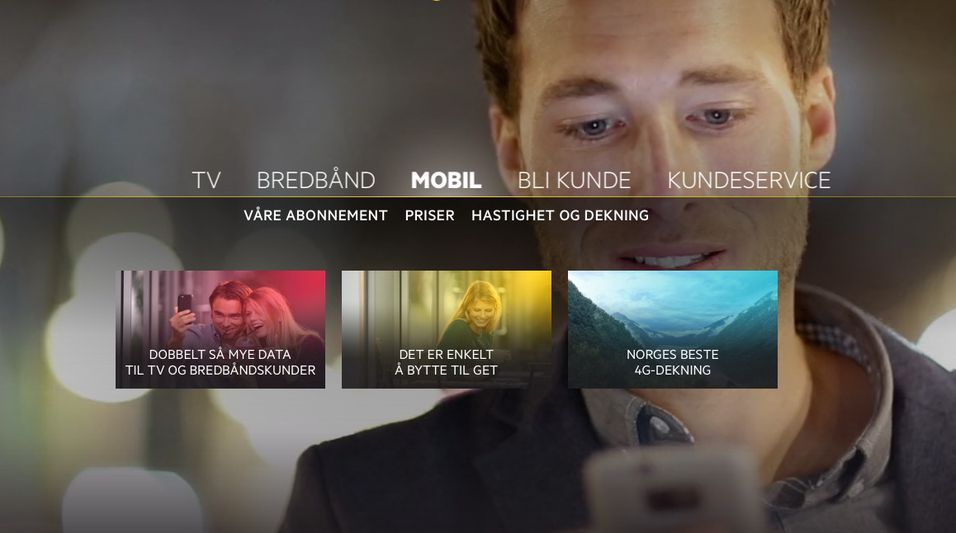 Get lanserer nye mobilabonnementer, med dobbel data for tv- og internettkunder.