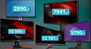 Dette er våre PC-skjerm-anbefalinger