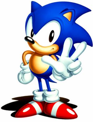 Sonic anno 1991. En ny spillhelt er født.