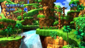 Vi vet at Sonic Team har gode spill i seg. Green Hill Zone (første akt) fra Sonic Generations.
