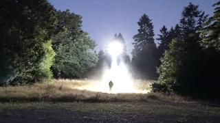 «UFO-dronen» kan lyse opp natten