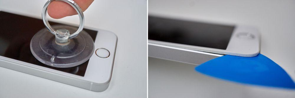 iPhone SE åpnes på tradisjonelt vis.