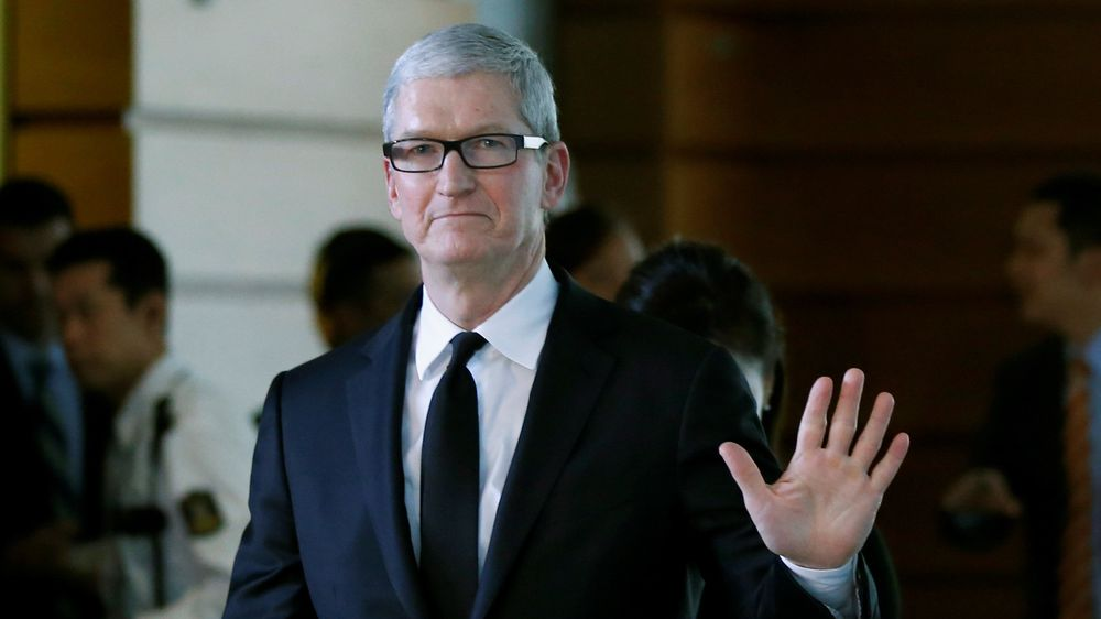 Apple-sjef Tim Cook.