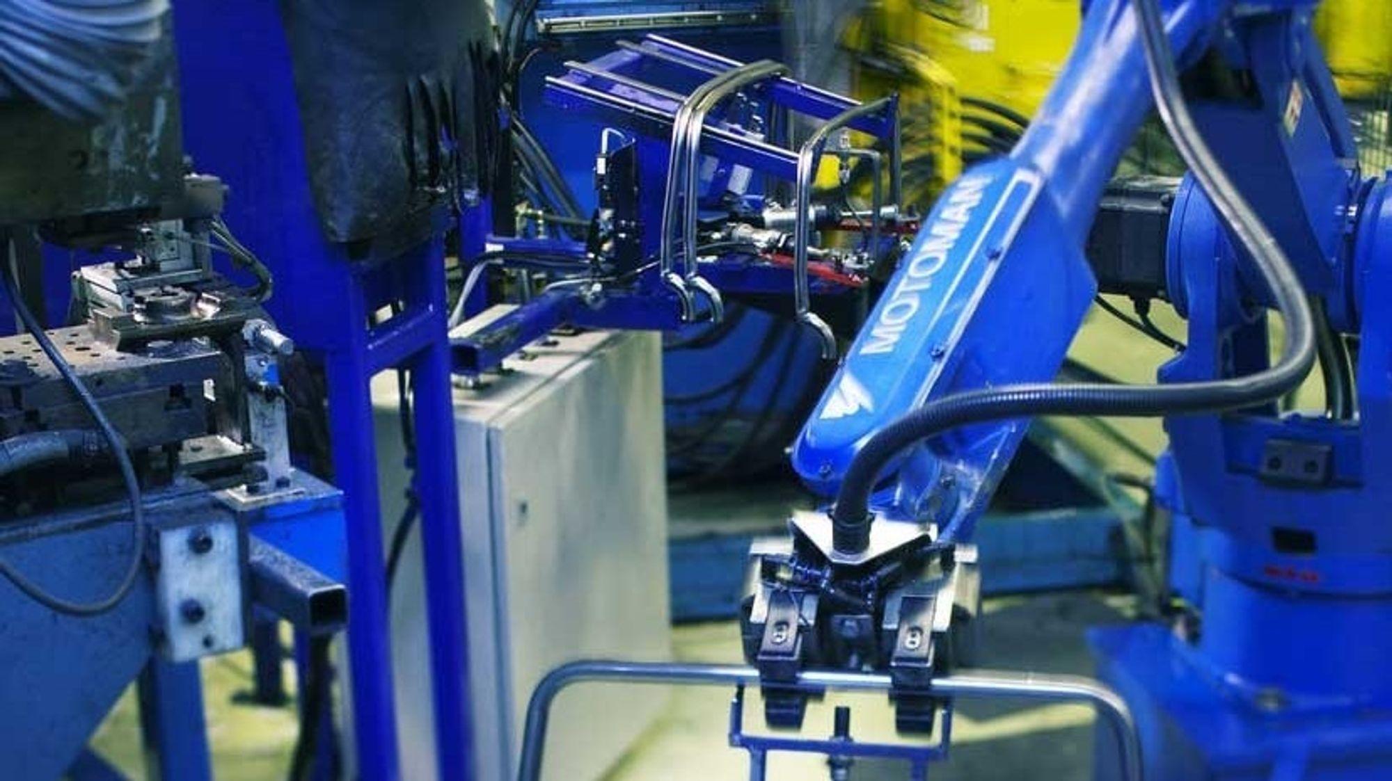 Ekornes er et eksempel på en bedrift som har kommet langt mot fullautomatisert produksjon.