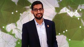 Google-sjef Sundar Pichai snakker også mye om talegjenkjenning for tiden.