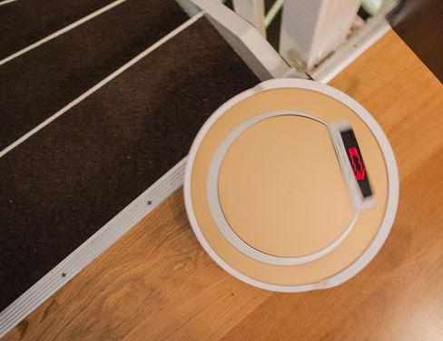 Sensoren som forhindrer at den faller ned trapper fungerte nesten alltid, men én gang smalt det.
