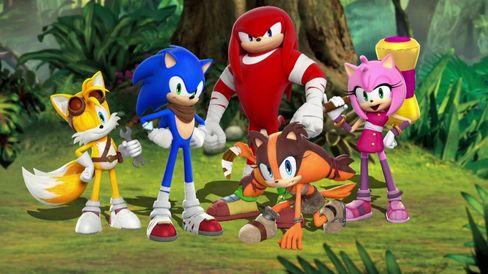 Klassebildeanno 2014. Sonic Boom prøvde nye design for heltene våre. Det gikk kanskje verst utover Knuckles.