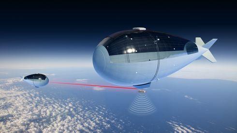 På 20 kilometers høyde er brenselceller overlegne batterier