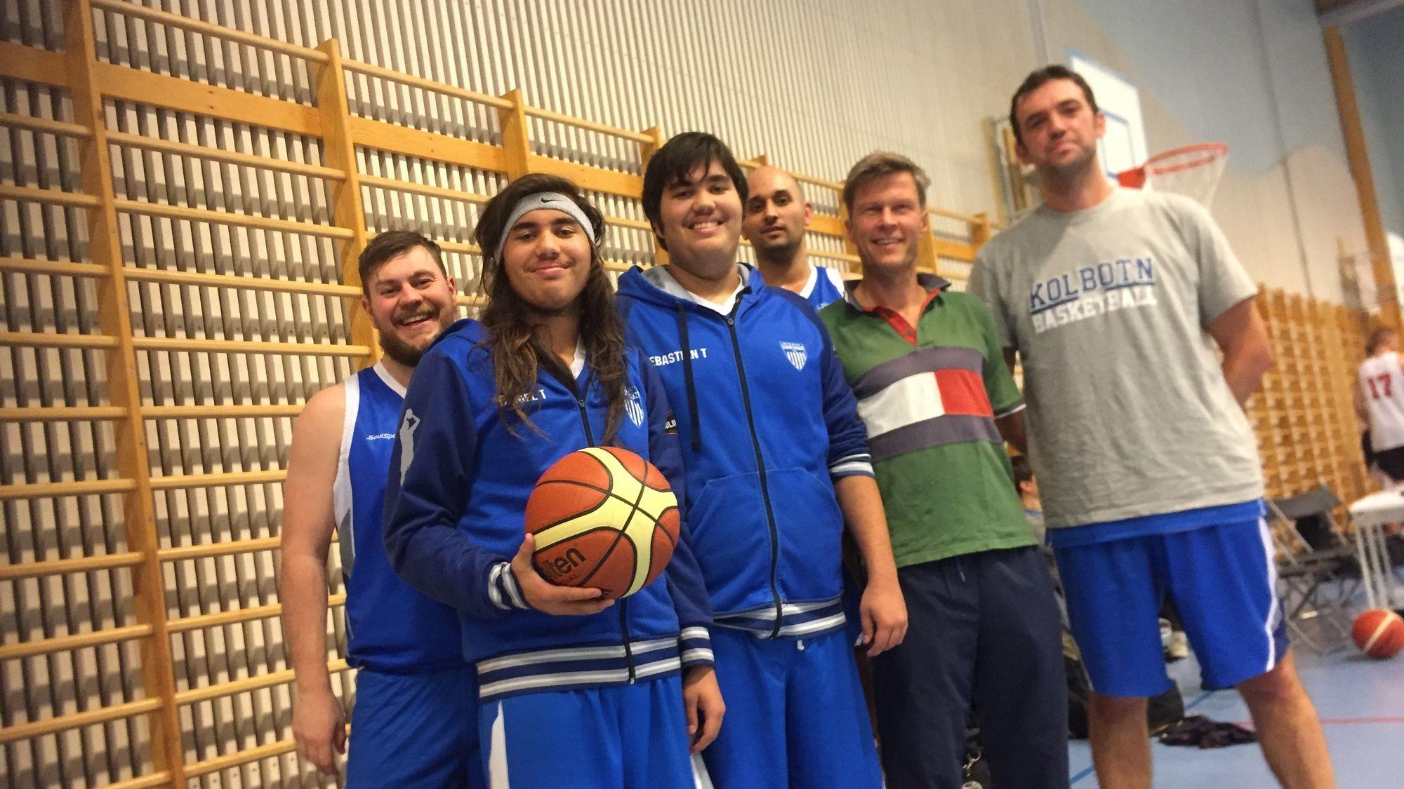NOK EN SEIER: Årets sesong har startet knallbra for Kolbotn basket herrer.