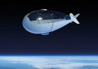 Pseudo-satellitten blir stasjonær i stratosfæren, 20 kilometer over bakken.
