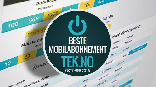Dette er månedens beste mobilabonnementer - oktober