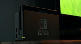 Nintendo Switch kan koplast til TV-skjermen.