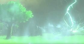 Intense væreffekter, som kraftige og tilsynelatende farlige lynnedslag, kan inntreffe i spillet.