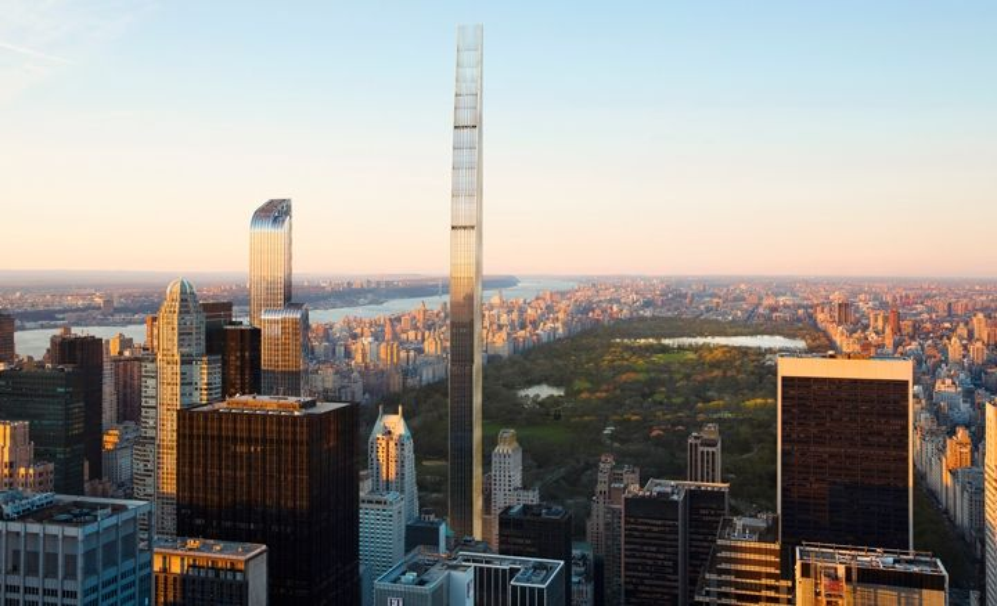 Skyskraperen 111 West 57th Street blir verdens slankeste skyskraper når den står ferdig i 2018.