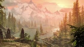Skyrim: Special Edition blir lekre saker. Skjermbildet er hentet fra Bethesdas nye trailer.
