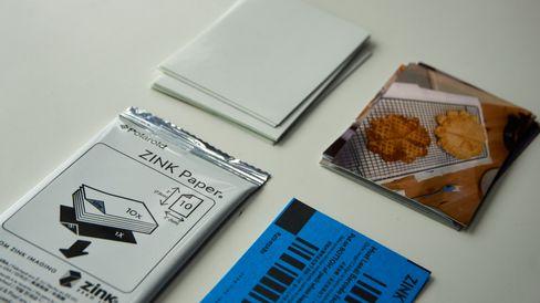 ZINK er en spesiell type papir.