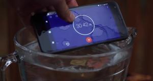 Så lenge holder Google Pixel ut i vannet, selv om den ikke er vanntett