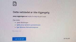 Nettsider tilbake etter DDoS-angrep. Også regjeringen.no ble rammet