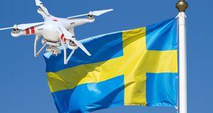 Sverige totalforbyr fotografering med droner