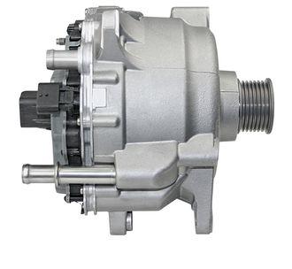 Motoren er vannkjølt, og har inverter integrert. (Foto: Continental)