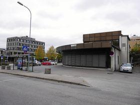 KAN BLI BOLIGOMRÅDE: Dagens DNB-bygg kan bli revet og erstattet.
