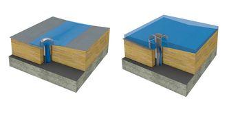 Mens vanlige taksluk leder vannet ned fra taket så raskt som mulig, oppbevarer Protans nye løsning regnvannet på taket i kortere perioder og drenerer det gradvis og kontrollert ned i avløpsnettet i løpet av 24 timer.
