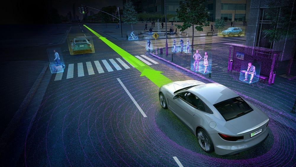 Drive PX 2 er en maskinvareplattform for selvkjørende biler, utviklet av Nvidia. Intel investerer også i slik teknologi.