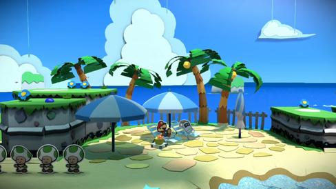 Maler-Mario tar en velfortjent pust i bakken.