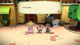 Paper Mario: Color Splash.