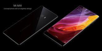 Den kantløse skjermen i nylanserte Xiaomi Mi Mix strekker seg hele veien opp og dekker neste hele fronten av telefonen, mye takket være norskutviklet sensorteknologi.