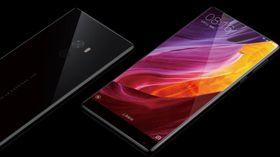 Heldekkende skjermer, her representert ved Xiaomi Mi MIX, kan bli enklere å lage med den nye, optiske fingeravtrykkleseren.