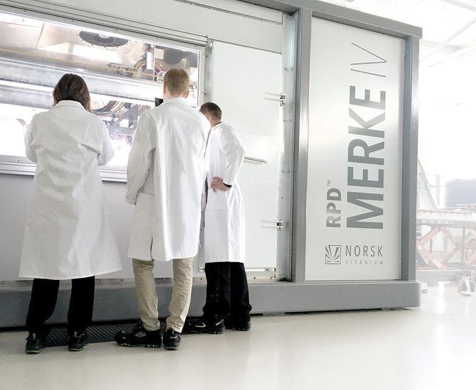 3D-printeren teknologien til Norsk Titanium vil revelusjonere flyindustrien og går nå tungt inn i USA.