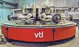 Tester svevestøv: VTI i Sverige har testet hvor mye svevesøv dekk produserer i forhold til antall pigger i dekket.